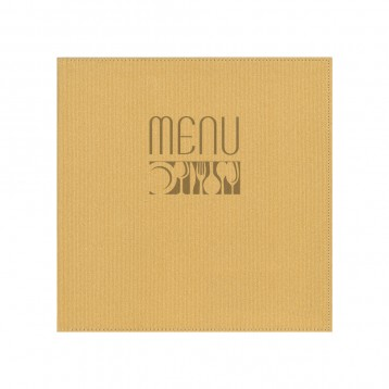 CORDUROY Menu List Cover