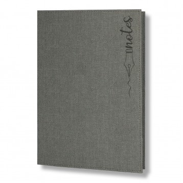 TWEED Notepad Folder A4