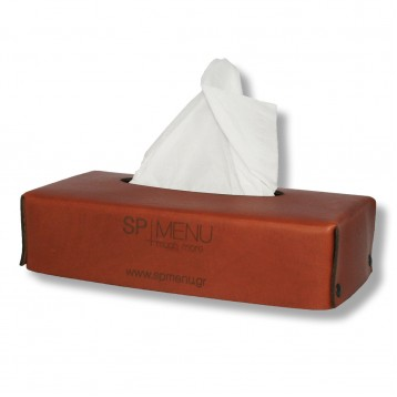 Genuine Leather Tissue Case