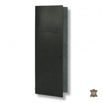 Genuine Leather Bar List Cover